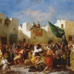 Delacroix - Fanatics of Tangier - 1838